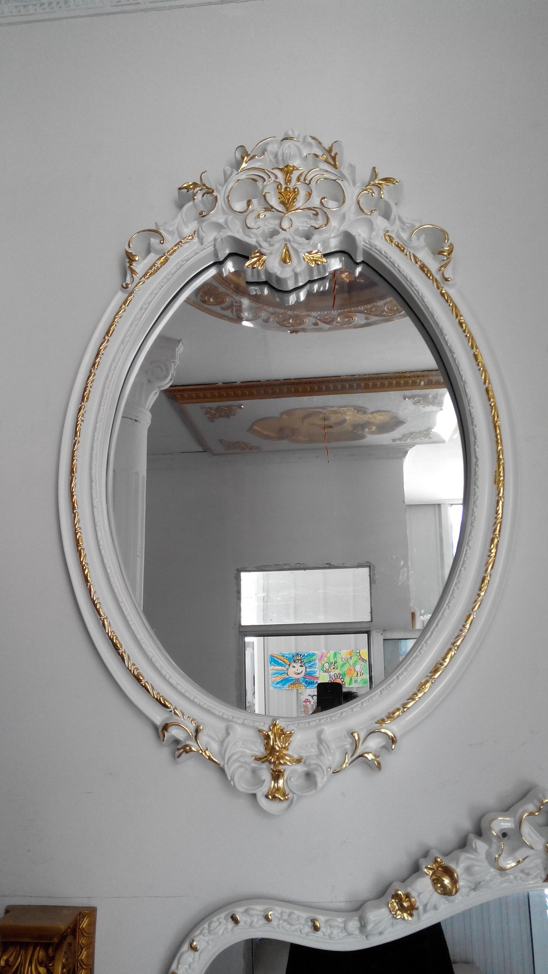 欧式镜子cad